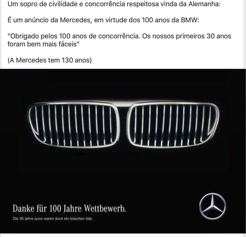 Mercedes-Benz Celebra Os 100 Anos…da BMW!